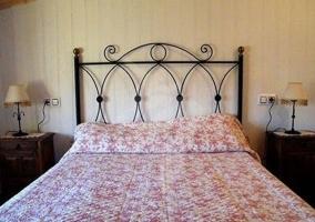 Dormitorio de matrimonio ático