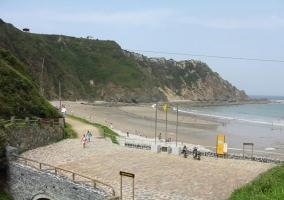 Playa en Cadavedo