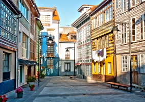 Casco urbano de Luanco