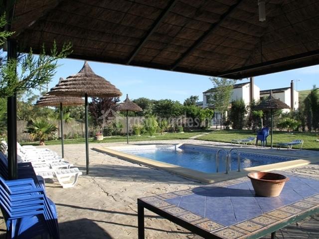 Casa menor cortijo barrera en el bosque c diz - Casas rurales con piscina baratas ...