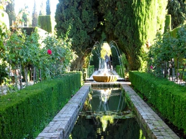 Los jardines del Generalife