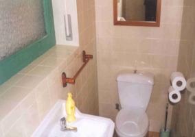 Cerámica en baño