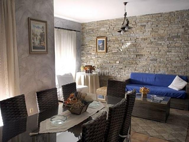 Moderno salón-comedor