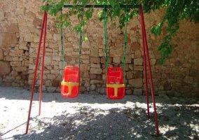 Columpio del parque infantil