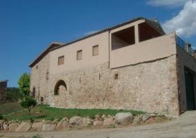 Lateral de la Casa Rural Fontanelles 1