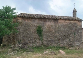 Lateral de la ermita