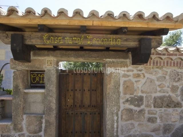 Casa leocadia en tudera zamora - Casa rural leocadia y casa clemente ...