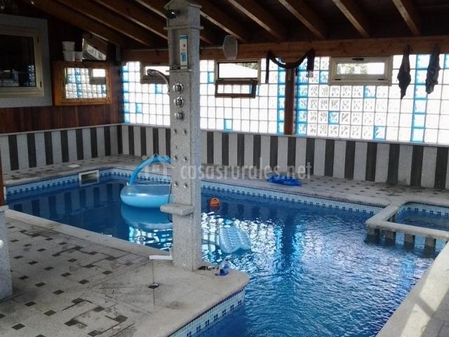 Casa leocadia en tudera zamora for Piscina climatizada de zamora