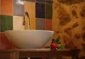 Detalle del lavabo
