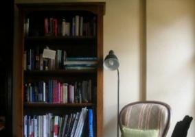 Biblioteca de la sala de estar