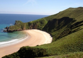 Playa asturiana
