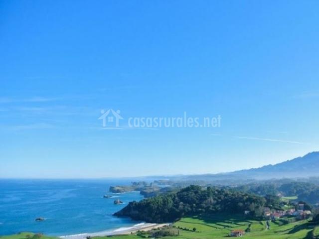 Casa rural La Calma Wellness en Junco (Asturias)