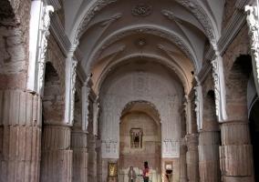 Interior de Santa María de los Arcos