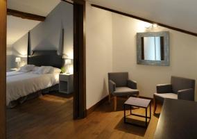 Dormitorios con salitas de estar