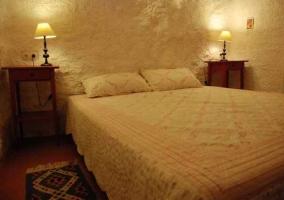 Dormitorio de cuatro camas indivduales