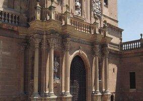 Arcos de la entrada de la catedral