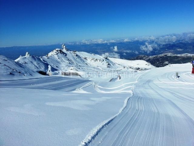 Sierra Nevada, pistas de esquí