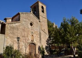 Zona de la iglesia Biure de Gaià