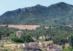 Zona natural y centro de Biure de Gaià
