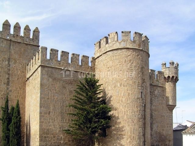 Vista del castillo de Orgaz