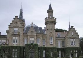 Vista del Palacio de El Castañar