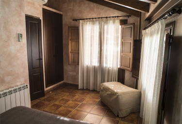 Dormitorio y detalles