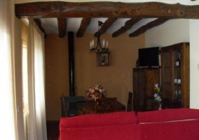 Salón comedor en madera