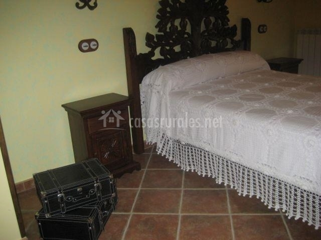 Decoración del dormitorio de matrimonio