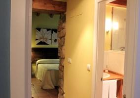 Habitación doble con baño propio