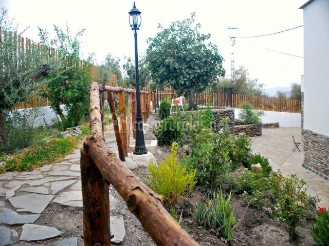 El cortijo de gema en gergal almer a for Casa rural jardin del desierto tabernas