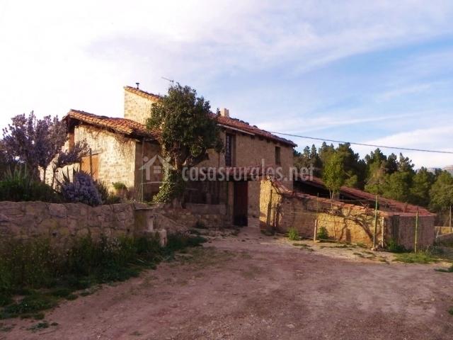 Mas de mu oz en mora de rubielos teruel - Casas rurales rubielos de mora ...