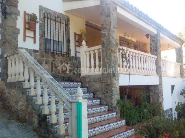 Escaleras de la fachada