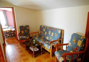 Sofás de la sala de estar