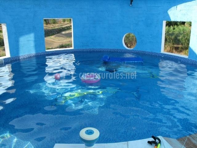 Casa rural aguas bravas casas rurales en villanueva del for Casa rural sevilla piscina