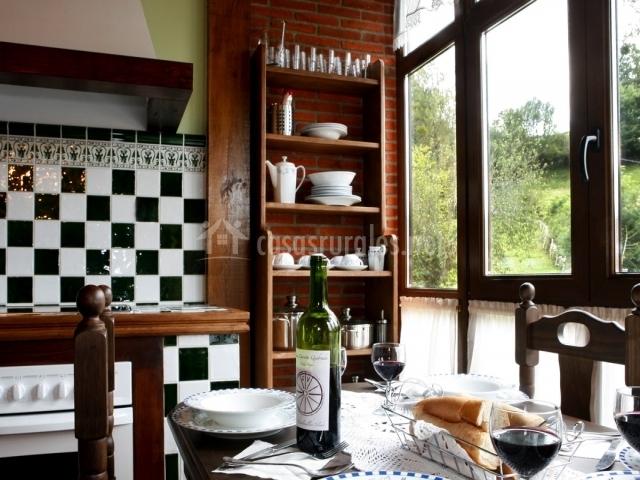 La riguera de ginio apartamento arcales en ucieda for Casa lita la cocina del pincho santander