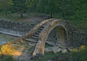 Puente Monscarales en Boltaña