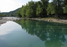Río virgen del Pirineo