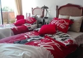 Con camas individuales