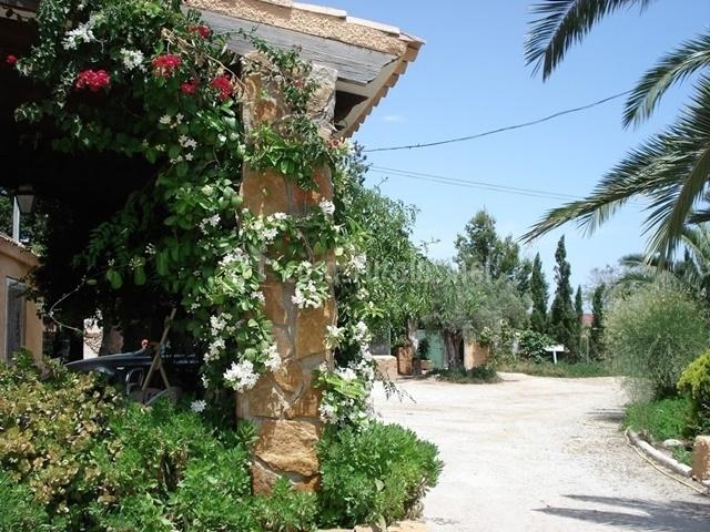 Casa rural svenja finca el romero en mutxamel alicante for Casas rurales alicante con piscina
