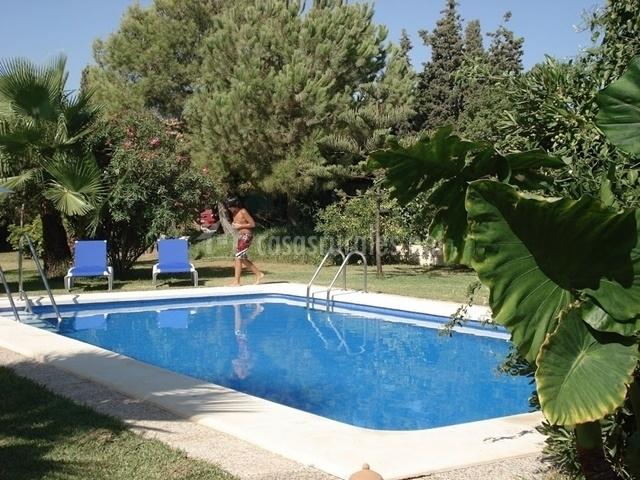 Casa rural svenja finca el romero en mutxamel alicante - Casa rural piscina interior ...