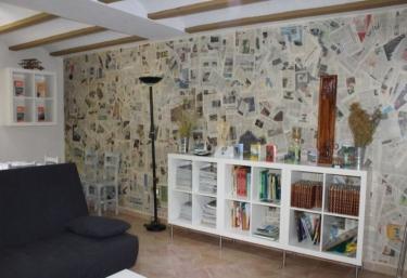 Sala de estar muy completa