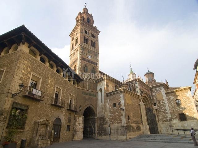 Castedral de estilo Mudéjar en Teruel