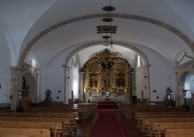 Castillo iglesia de Santa María