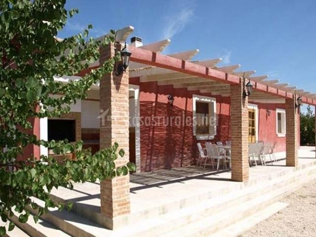 Cortijo villa rosa labradores en caravaca de la cruz murcia - Casa rosa murcia ...