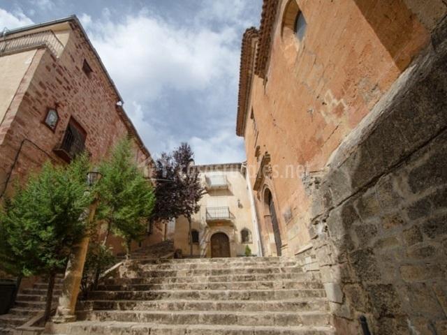 Entrada a la Iglesia de San Miguel