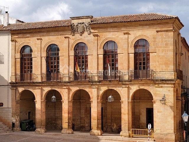 Edificio del Ayuntamiento de Alcaraz