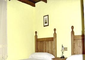 Dormitorio doble de camas individuales