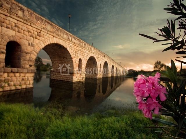 Puente Romano Matrimonio : La posá de maría en puebla reina badajoz