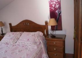 Detalle de un dormitorio
