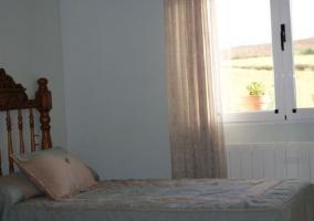 Detalle de una cama
